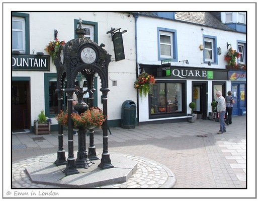 The Fountain Bar and Victorian Water Fountain Aberfeldy