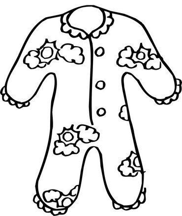 Colorear Dibujos De Pijamas