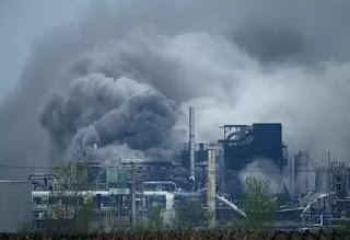 Nhà máy Formosa (sản xuất nhựa) ở Illinois, phía đông Springfield, Mỹ