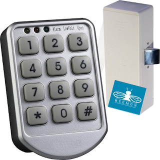 hộp chìa khóa gắn tủ beemun46