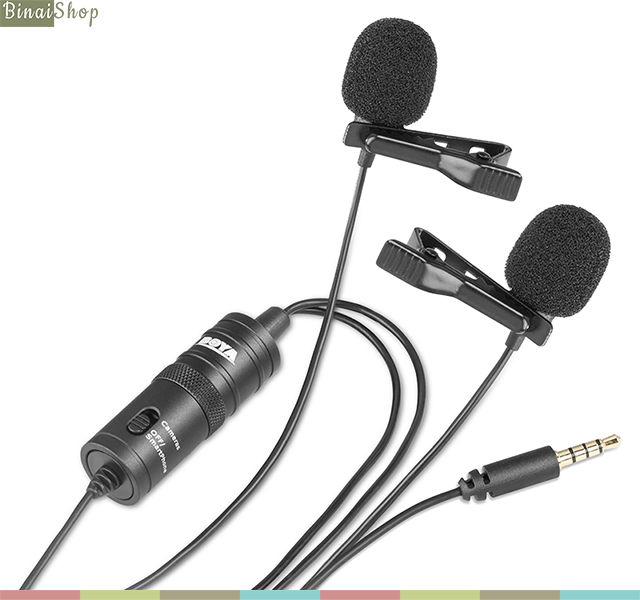 Boya BY-M1DM (Dual Mic)