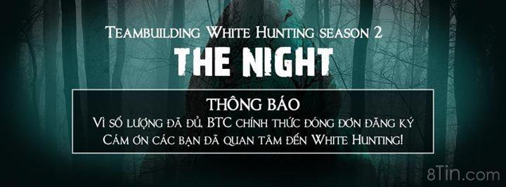 TEAMBUILDING WHITE HUNTING Season 2  THE NIGHT