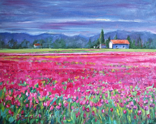 Field of Pink Jennifer Beaudet