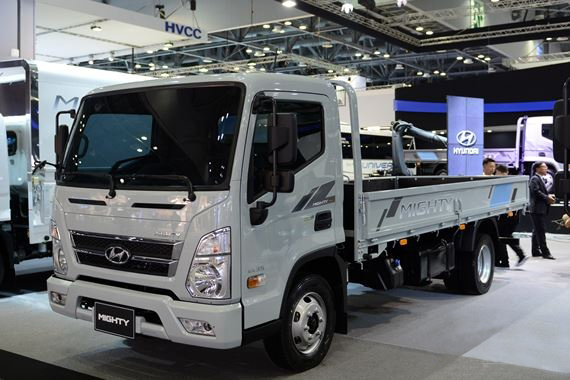 Hyundai new mighty qt thung lung