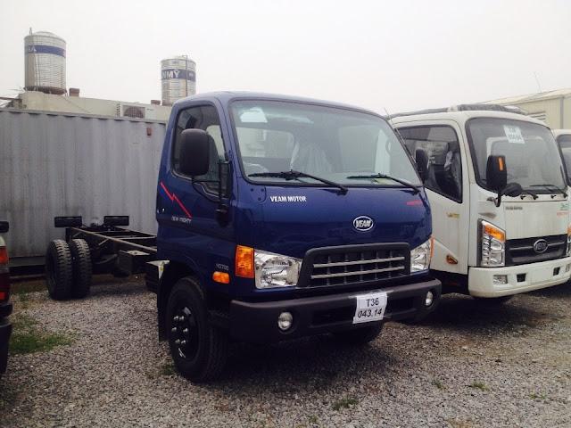 Bắc ninh, Bắc giang xe Hd800 thùng bạt 8 tấn nâng tải từ xe 3.5 tấn