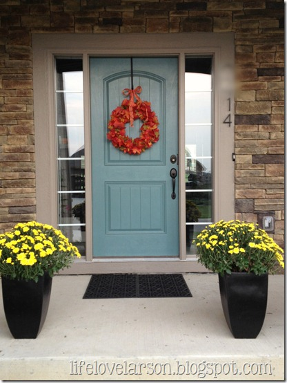 Front Door Here Is A Short Journey This Was Originally The Darkest Accent Color On House Dark Mushroom