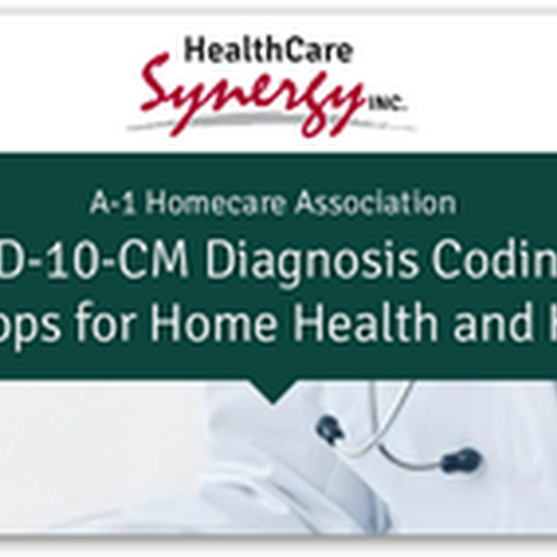 Healthy Care Synergy Announced ICD10 Workshops For Home Health and Hospice Care