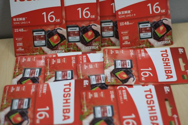 Thẻ nhớ dung lượng lớn và tốc độ cao miễn phí khi sử dụng dịch vụ cho thuê máy ảnh Canon