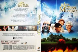 """Bìa DVD bộ phim """"Phép lạ vĩ đại nhất"""""""