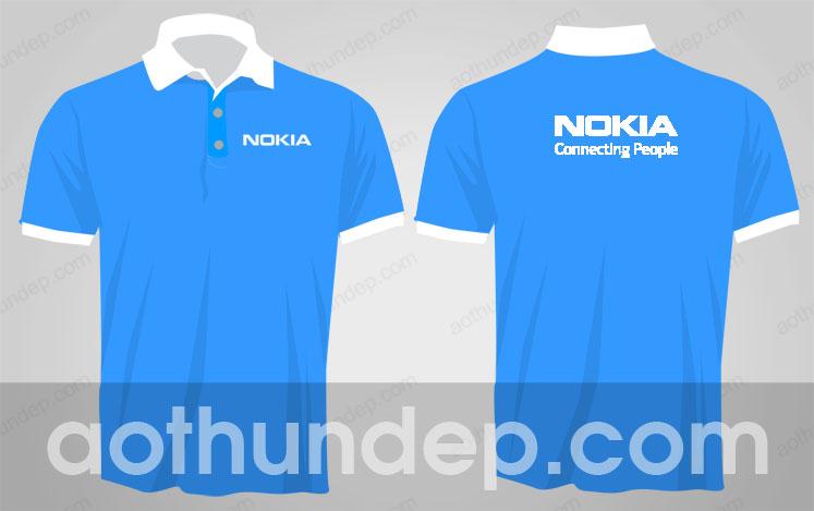 Áo thun văn phòng công ty Nokia