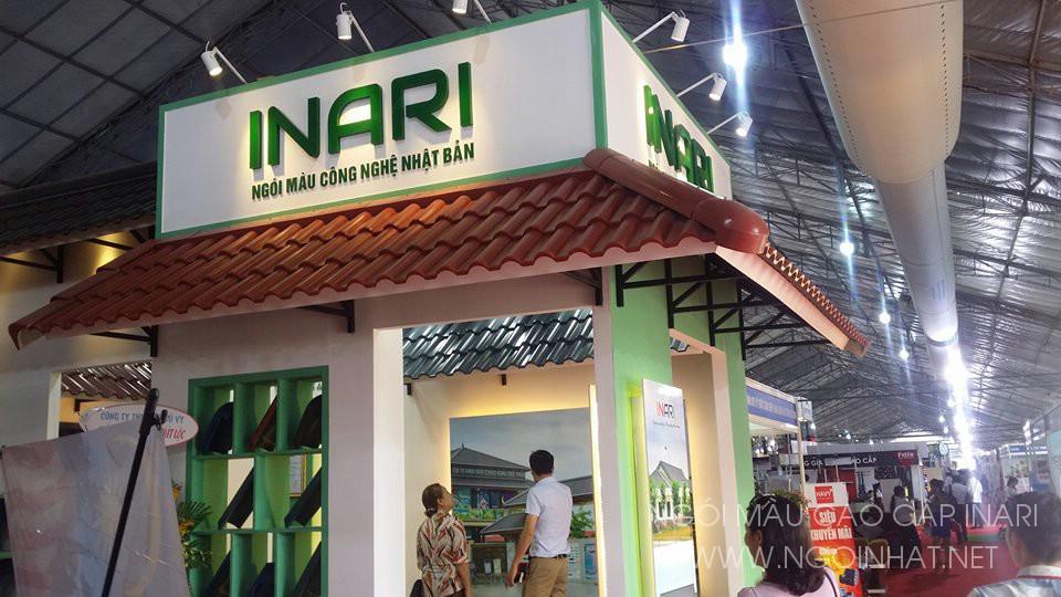Ngói màu INARI tại hội chợ Vietbuild 2016