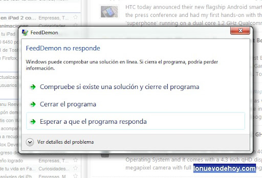 Windows se nos cuelga