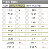 Pitching Tracker