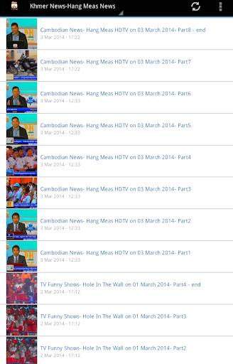 Hot Khmer News Hang Meas HDTV