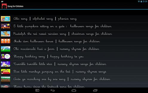 Songs-for-Children 4