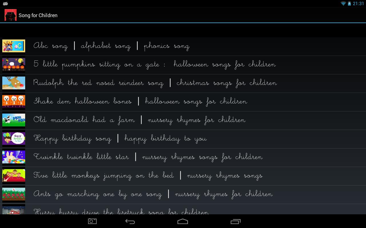 Songs-for-Children 10