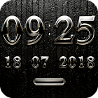 PEARLMOON Digital Clock Widget icon