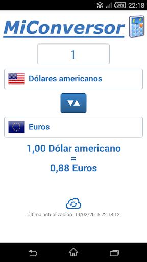 Mi Conversor de monedas
