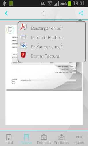 【免費財經App】iFacturas: Factura Presupuesto-APP點子