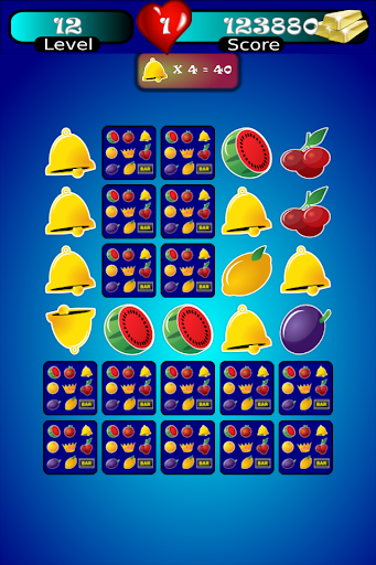 Slot Machine Fruit Memory A