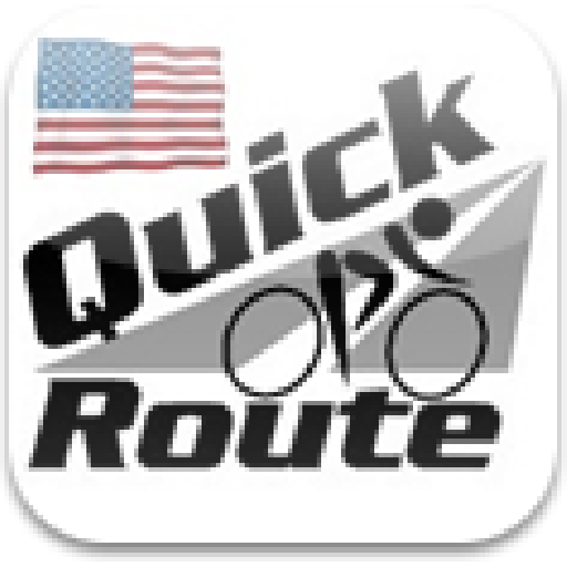 运动のクイック自転車ルートアメリカ合衆国 LOGO-記事Game