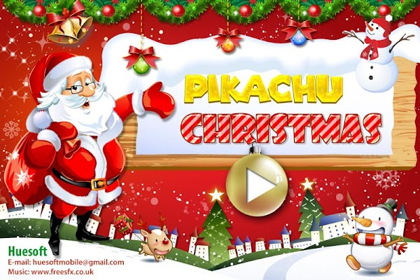 Connect - Pikachu Christmas - screenshot