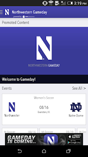 Northwestern Gameday LIVE - screenshot thumbnail