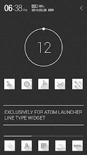 Atom All in One Widgets- screenshot thumbnail