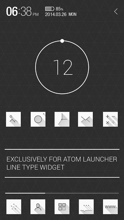 Atom All in One Widgets - screenshot
