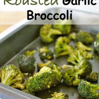 Roasted Garlic Broccoli.