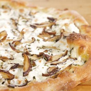Shiitake Mushroom Pizza