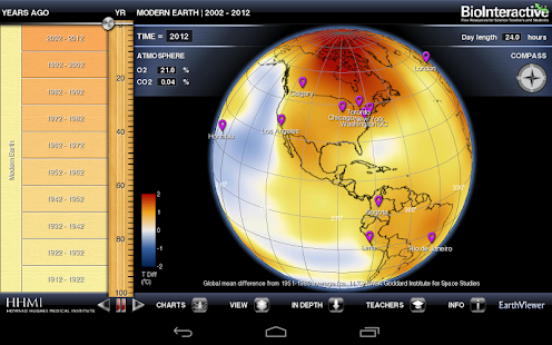 BioInteractive EarthViewer- screenshot thumbnail