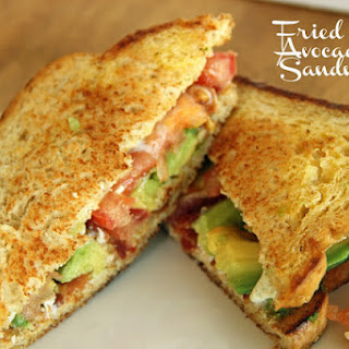 Fried Egg and Avocado Sandwiches.