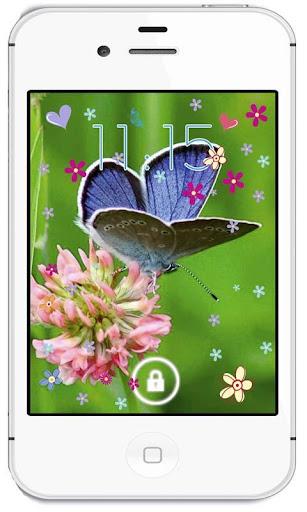【免費個人化App】Butterfly Spring livewallpaper-APP點子