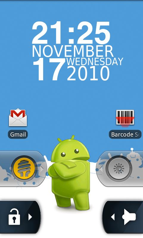 WidgetLocker Lockscreen - screenshot