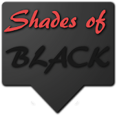 Shades of Black Zooper Skin