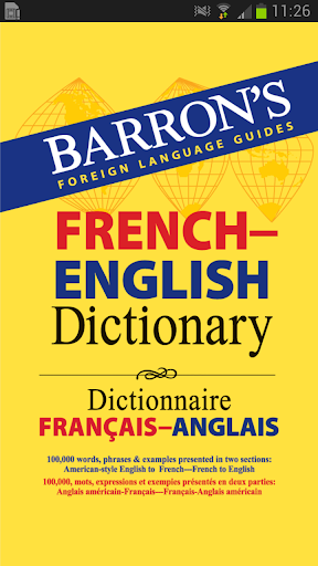 Barron's French-English