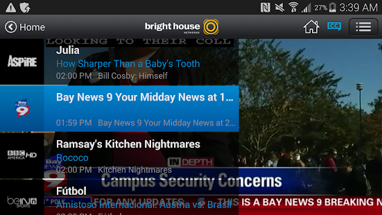 Bright House TV- screenshot thumbnail