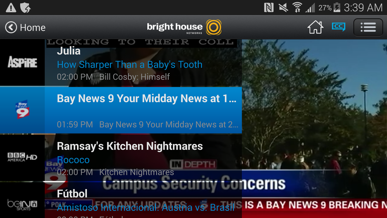 Bright House TV- screenshot
