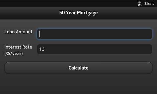 50 Year Mortgage