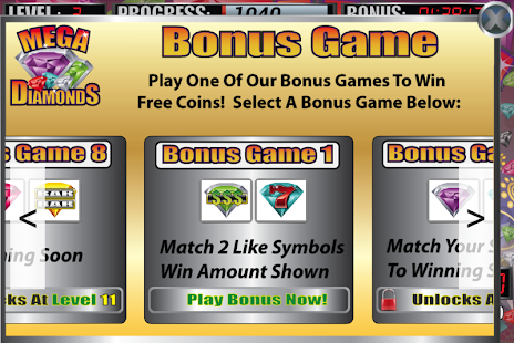 Mega Diamonds Slot Machine - screenshot thumbnail