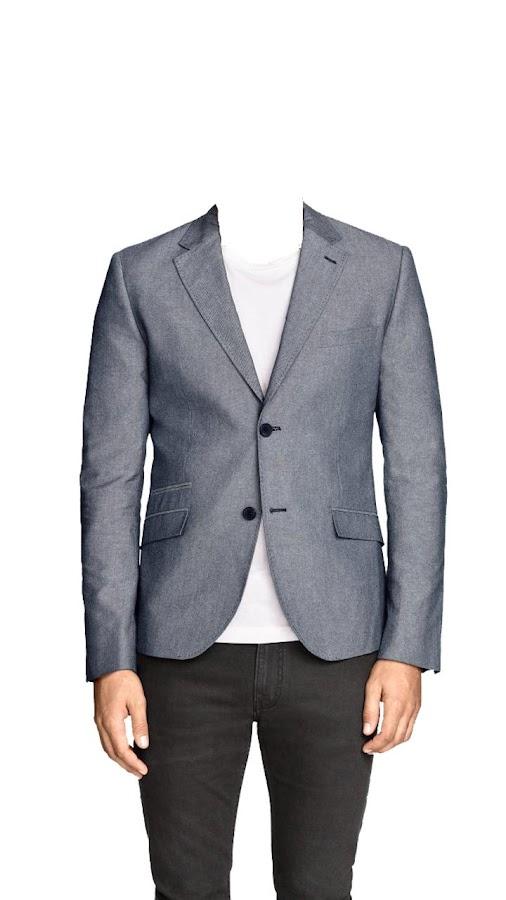Men fashion suit photo montage online for free