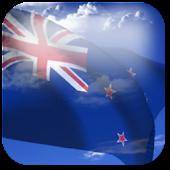 3D New Zealand Flag LWP +