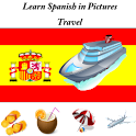 Spanish in Pictures: Travel logo