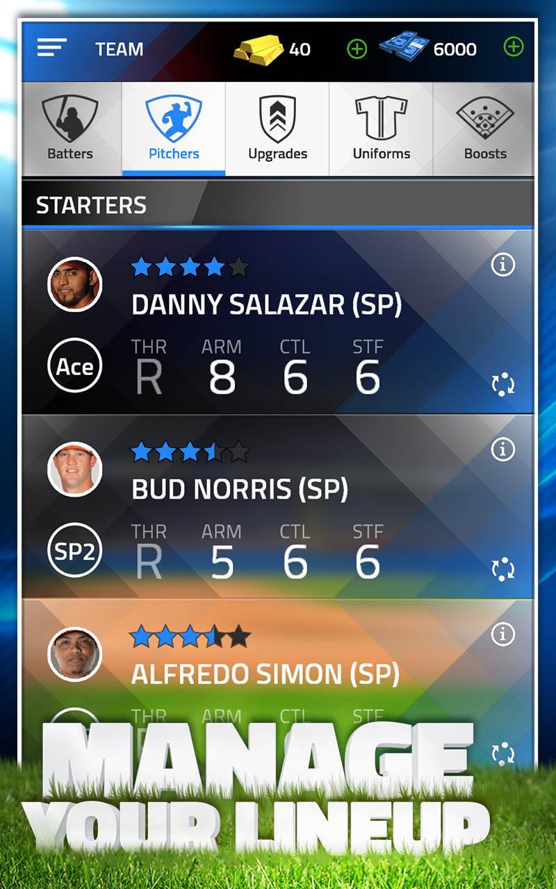 TAP SPORTS BASEBALL 2015 screenshot #4
