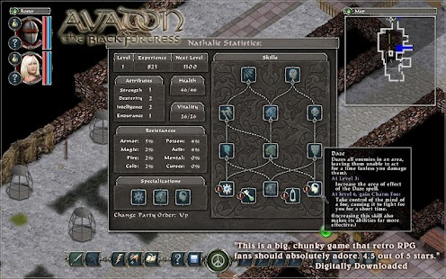 Avadon: The Black Fortress Screenshot 7
