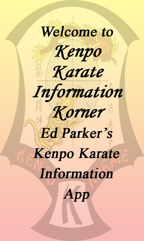 Kenpo Karate Info Korner- screenshot