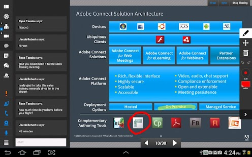 Adobe Connect – Miniaturansicht des Screenshots