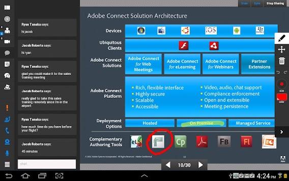 Adobe Connect APK screenshot thumbnail 7