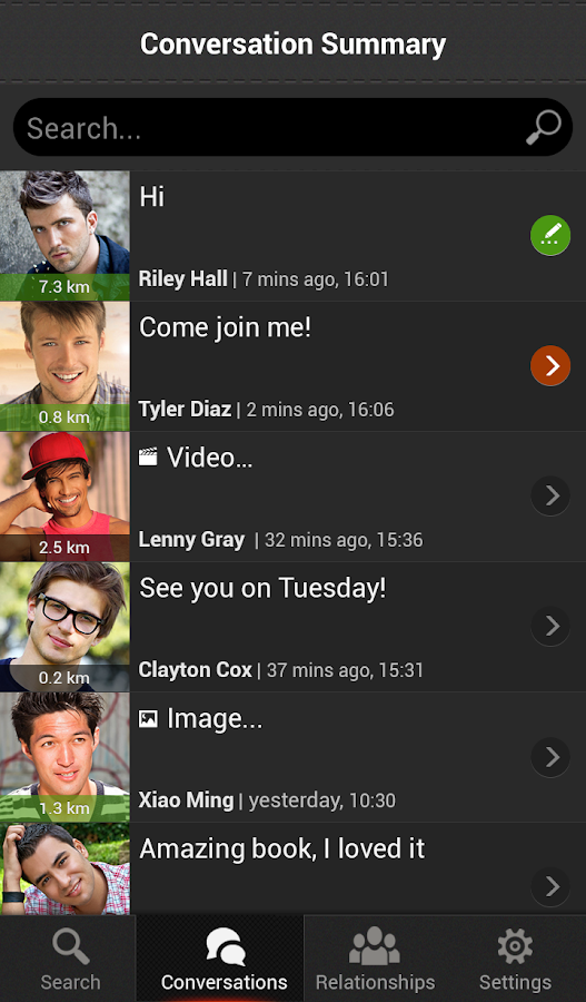 Gay dating - Seed - screenshot